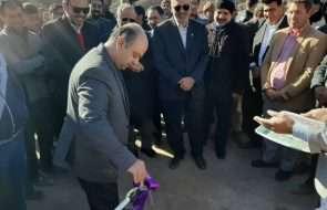 با حضور نماینده مردم مشهد و کلات در مجلس پروژه آبرسانی روستای ارداک مشهد افتتاح شد