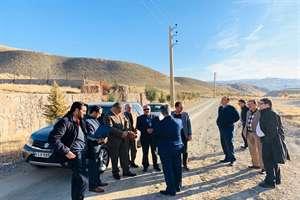 بازدید مهندس نبییان و هیات همراه از اراضی دماوند و کیلان