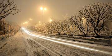 برف و باران در جادههای ۱۶ استان/ ۹جاده مسدود است