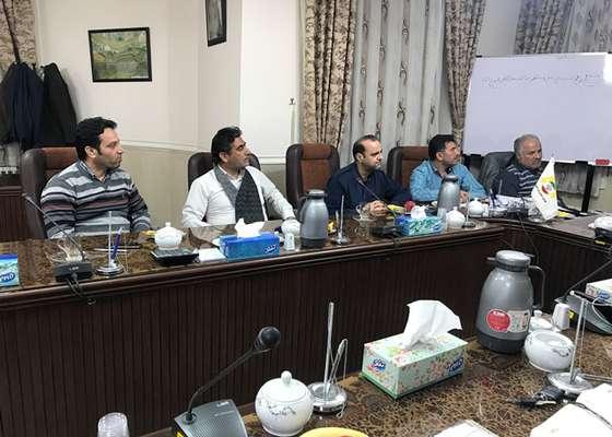 جلسه بررسی محله بندی دامغان در جلسه شورای شهر