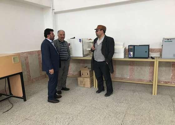 بازدید رئیس شورای شهر دامغان از مرکز ارتقا آموزش های فنی و حرفه ای