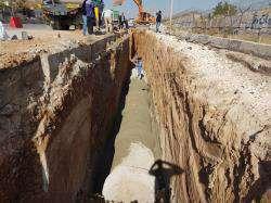 اجرای پروژه های جمع آوری و هدایت آبهای سطحی در سطح منطقه دو