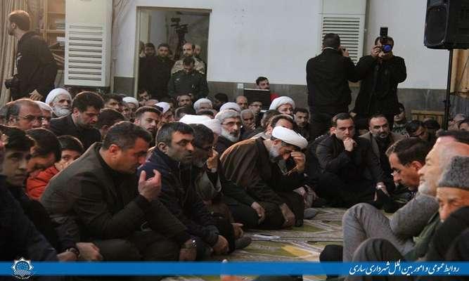 حضور شهردار ساری در مراسم گرامیداشت سردار شهید سپهبد حاج قاسم سلیمانی