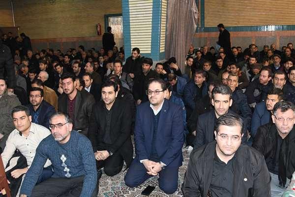 گزارش تصویری مراسم گرامیداشت سردار سپهبد شهید حاج قاسم سلیمانی در حسینیه اعظم ثارالله ارومیه