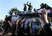 جابجایی رایگان عزاداران سردار شهید سلیمانی توسط قطارهای حومهای