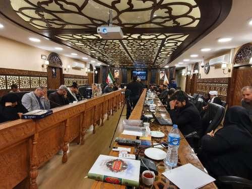 برگزاری مراسم یادمان سردار شهید سپهبد قاسم سلیمانی در شورای اسلامی شهر گرگان