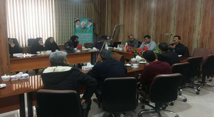 کارگاه آموزشی معلمان رابط طرح دانش آموزی داناب در فاروج...