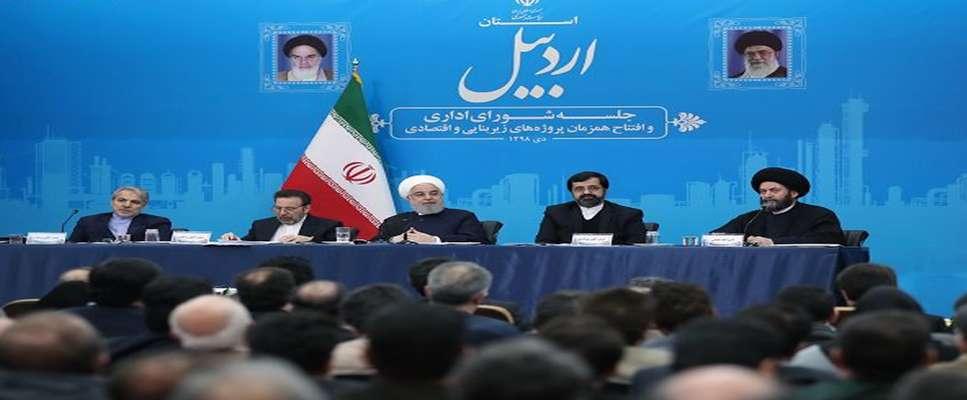 افتتاح همزمان ۳۰ طرح وزارت راه و شهرسازی در استان اردبیل