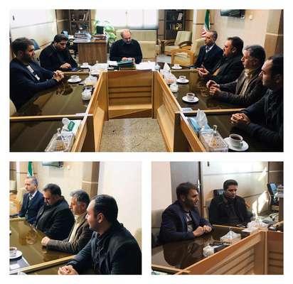 برگزاری جلسه هیئت مدیره انجمن با معاونت عمرانی استانداری