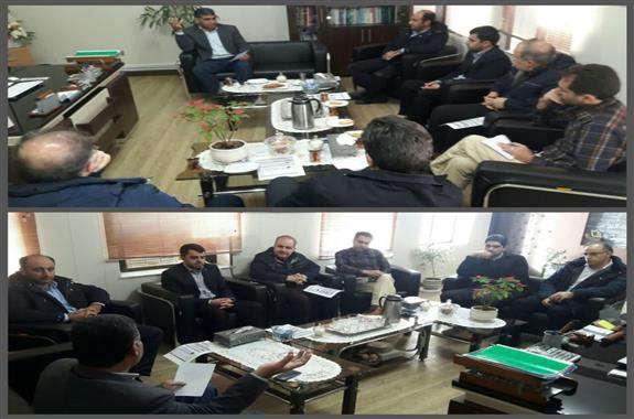 برگزاری جلسه هماهنگی حضور صنایع بزرگ استان در نوزدهمین نمایشگاه بین المللی محیط زیست