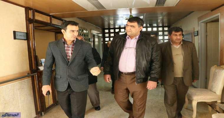 بازدید اعضای شورای شهر کرج از مرکز توانبخشی و نگهداری کودکان معلول