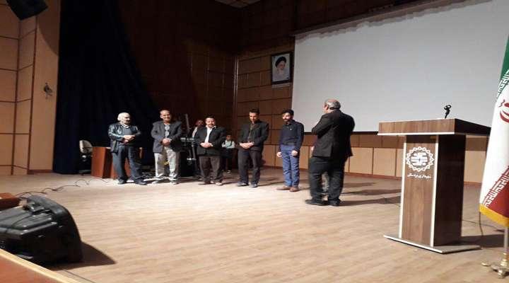 مراسم جشن روز ملی حمل نقل با حضور مسئولین محترم