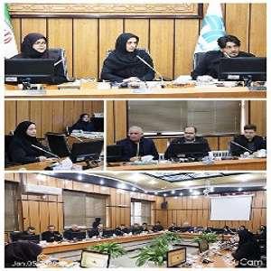 برگزاری جلسه کمیسیون فرهنگی، اجتماعی و ورزشی