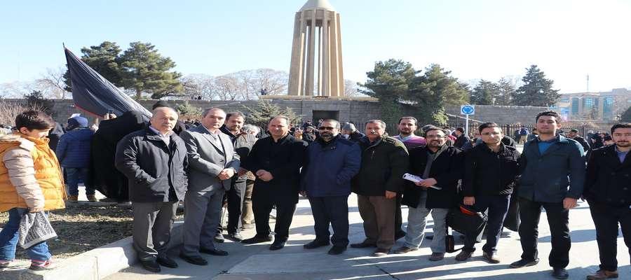 راهپیمایی کارکنان شرکت تولید نیروی برق شهید مفتح در پی شهادت سردار سپهبد شهید قاسم سلیمانی