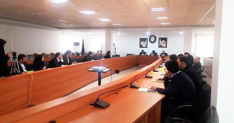 اجرای دوره سازه های امن با حضور همکاران وزارت نیرو