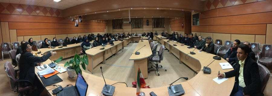 کارگاه آموزشی معلمان رابط طرح دانش آموزی داناب در بجنورد...