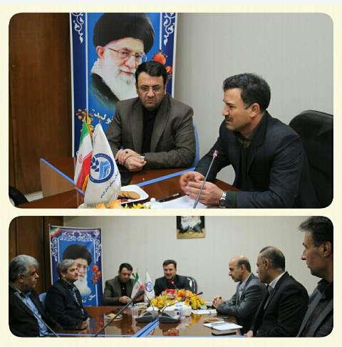 تاکید بر ارایه خدمات مطلوب تر در جلسه مشترک شهرداری و شرکت آب و فاضلاب استان قزوین