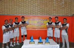 چهارمین دوره مسابقات والیبال آبفار خراسان رضوی در مشهد برگزار شد