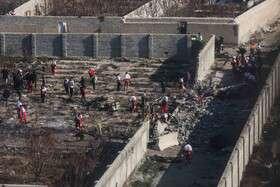 پایان عملیات جمعآوری اجساد جانباختگان سانحه سقوط هواپیمای اوکراینی