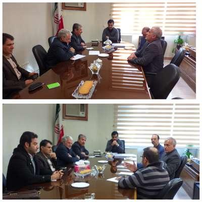 دیدار هیات مدیره سازمان نظاممهندسی ساختمان لرستان با مدیرکل راه و شهرسازی