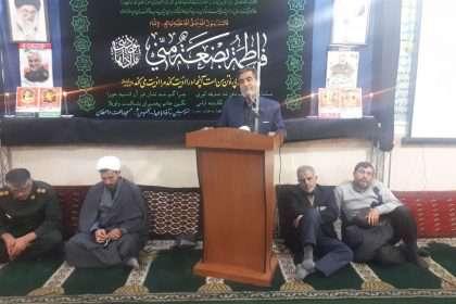 سخنرانی شهردار دامغان در مراسم بزرگداشت شهید سلیمانی