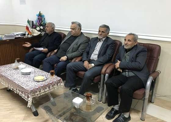 نشست هم اندیشی اعضای کانون بازنشستگان تامین اجتماعی دامغان با ریاست شورای اسلامی دامغان