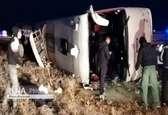 اتوبوس واژگونشده در سوادکوه ترمز نداشت