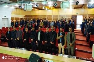 برگزاری مراسم بزرگداشت سردار شهید حاج قاسم سلیمانی در اداره کل راه و شهرسازی استان کردستان