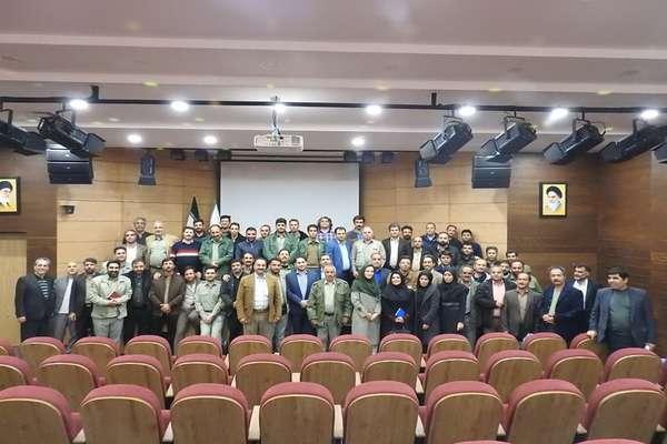 برگزاري دوره آموزشي بيمارهاي شايع در حيات وحش و راه هاي پيشگيري از شيوع آن ها براي محيط بانان اصفهان