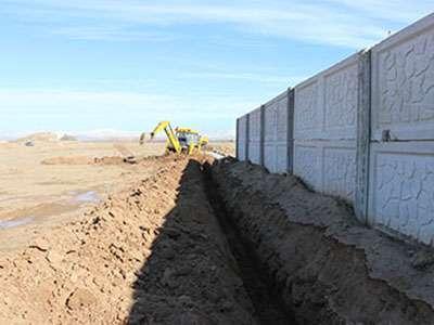 پروژه لولهگذاری آب شرب آرامستان باغ کوثر قزوین آغاز شد