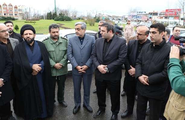المان بلوار شهید سلیمانی در لاهیجان رونمایی شد