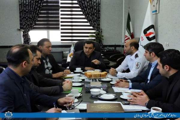 نشست هم اندیشی مدیران شهرداری ساری و رؤسای سازمان های تابعه