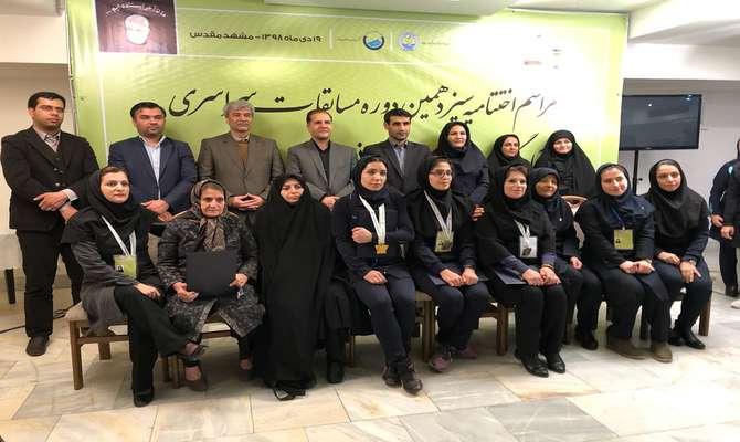 کسب رتبه سوم مسابقات دوومیدانی خواهران وزارت نیرو توسط بانوی همکار