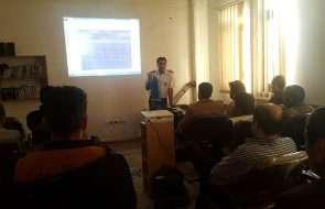 برگزاری کارگاه آموزشی روشهای اطفای حریق در آبفار فیروزه
