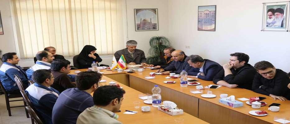 جلسه پرسش و پاسخ کارکنان امورشمال اصفهان با معاونت منابع انسانی برگزارشد