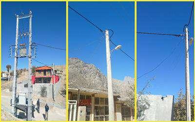 بهره برداری از 3 پروژه برق رسانی در شهرستان کیار چهارمحال وبختیاری