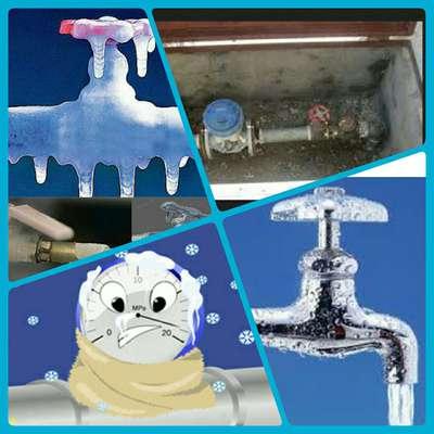 آمادگی آب و فاضلاب روستایی استان قزوین برای مقابله با سرما و یخبندان