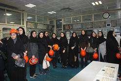 بازدید بانوان شاغل در شرکت برق منطقه ای هرمزگان از تاسیسات نیروگاه بخار بندرعباس