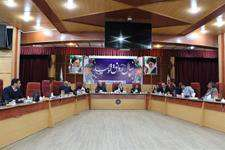 هفتاد و نهمین  جلسه کمیسیون حقوقی و املاک شورای شهر اهواز برگزار شد