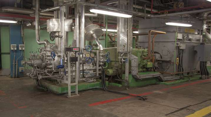 بازسازی قطعات بالانس فید واتر پمپ  در نیروگاه حرارتی شازند