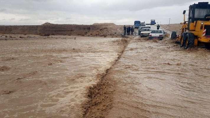 مسدود شدن ۳۵۰ راه روستایی در استان سیستان و بلوچستان / محورهای اصلی و فرعی بازگشایی شد
