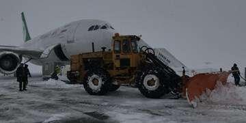 بهروزرسانی دستورالعمل عملیات زمستانی فرودگاهها/آمادهباش تجهیزات برفروبی و یخزدایی
