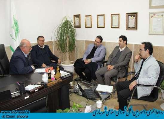 کمیسیون فرهنگی ، اجتماعی شورای اسلامی شهر ساری 24 دی ماه 98