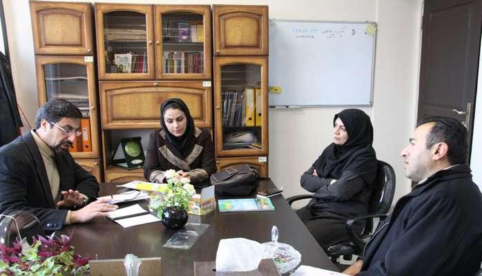 برگزاری جلسه هماهنگی اجرای مانور سیلاب مدارس در شرکت آب...