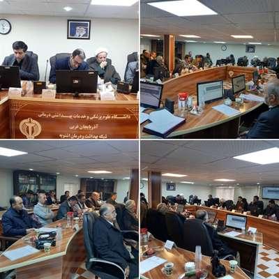 دومین مجمع سلامت اشنویه با تقدیر از مدیر امور آبفای این شهرستان برگزار گردید