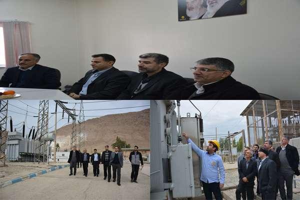 بررسی وضعیت پروژههای اصلاح و بهینهسازی، جاری و قراردادهای تعمیر و نگهداری در شرکت برق منطقهای غرب