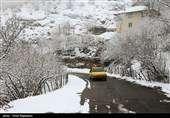 برف و باران در جادههای ۱۱ استان/بارش برف در محورهای شمالی