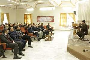 برگزاری کلاس آموزشی با موضوع نحوه اجرای قانون زمین شهری در اداره کل راه وشهر سازی استان مرکزی