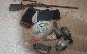 شکارچیانی که کبوترها و گنجشکها را نشانه می رفتند دستگیر شدند