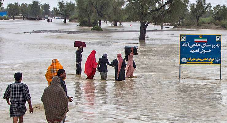 اغلب راهها در سیستان و بلوچستان باز شدهاند/ تا سیل فروکش نکند نمیتوان بازگشایی انجام شود